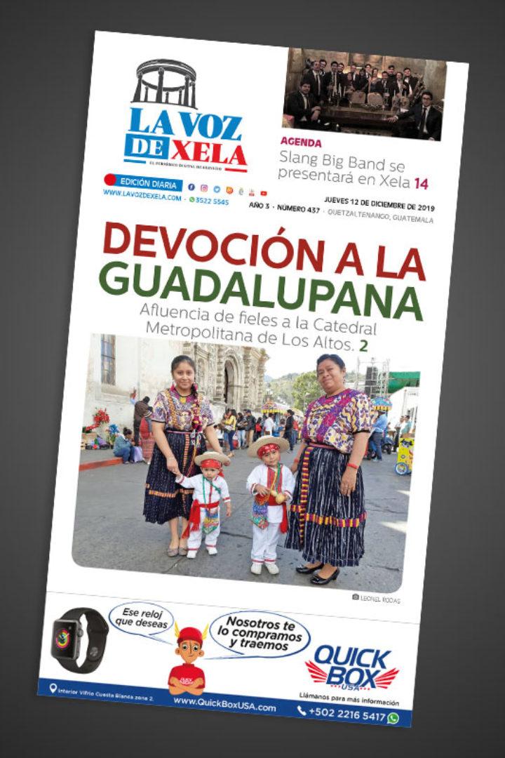 Lee el periódico digital nocturno del jueves 12 de diciembre | #437