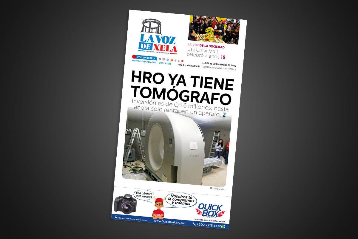 Lee el periódico digital nocturno del lunes 16 de diciembre | #440