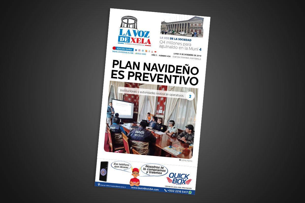Lee el periódico digital nocturno del lunes 9 de diciembre | #434