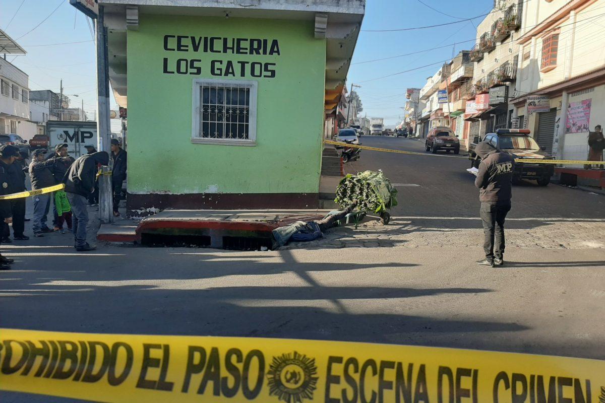 Cargador de bultos y padre de dos hijos es asesinado