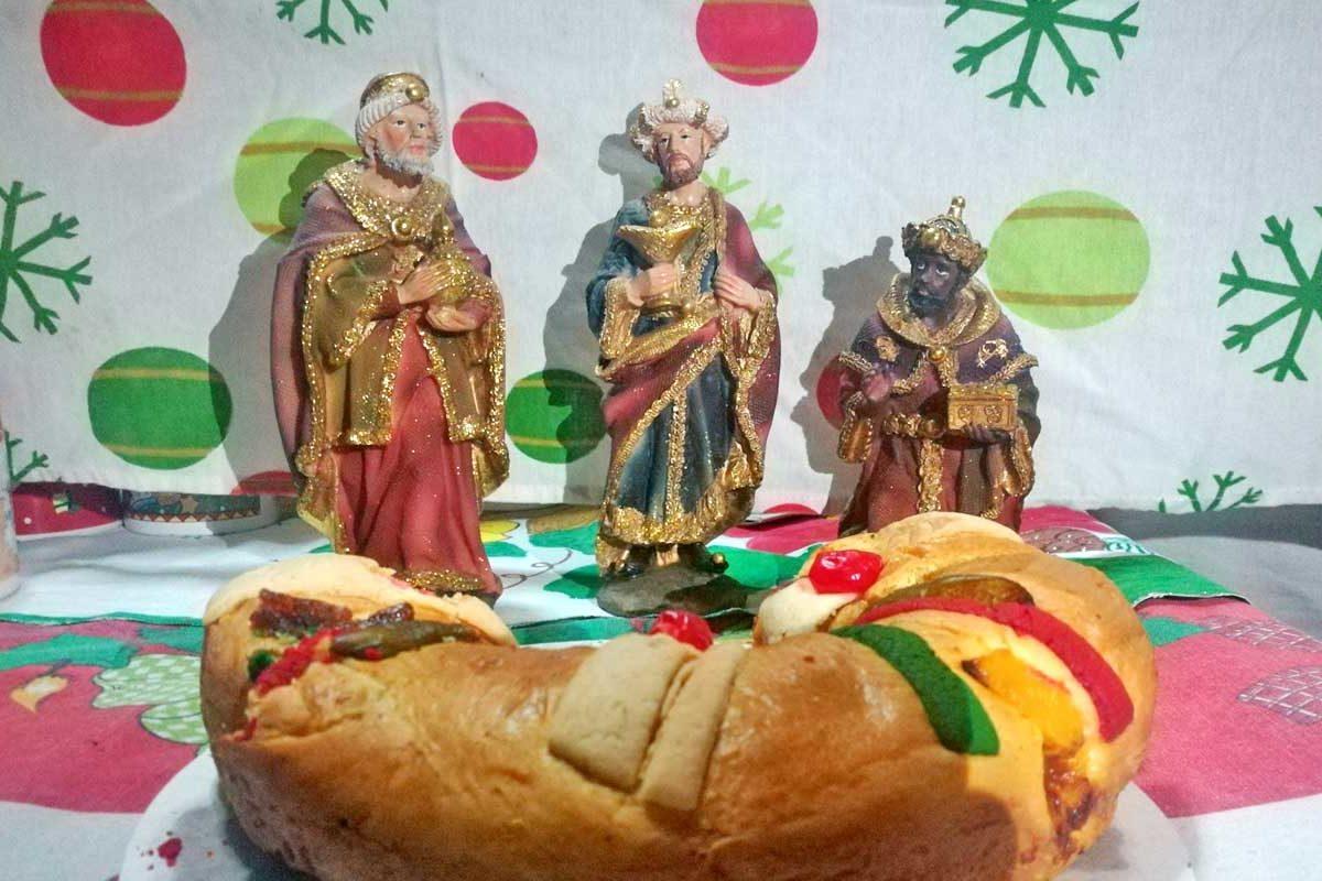 Celebran el Día de Reyes