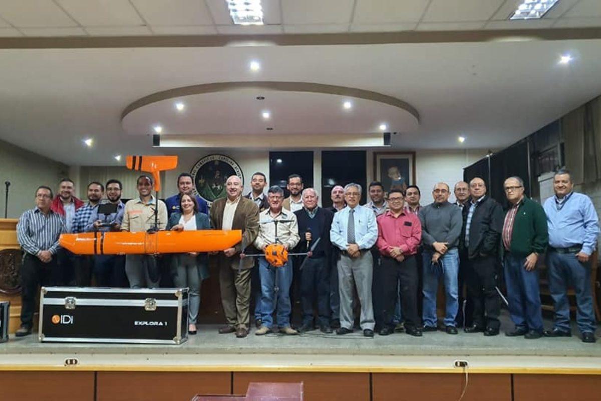 División de Ciencia y Tecnología del Cunoc recibe dos drones