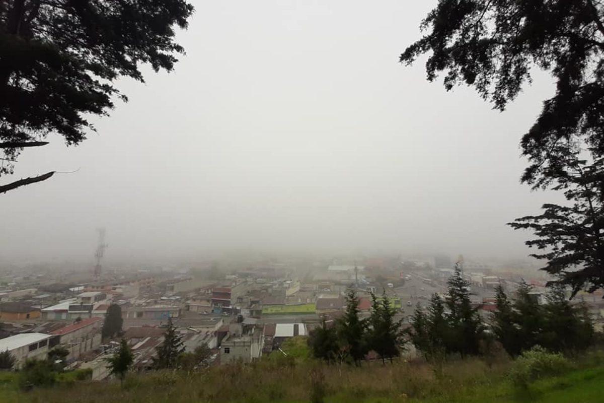 Anuncian más frío en Quetzaltenango este fin de semana