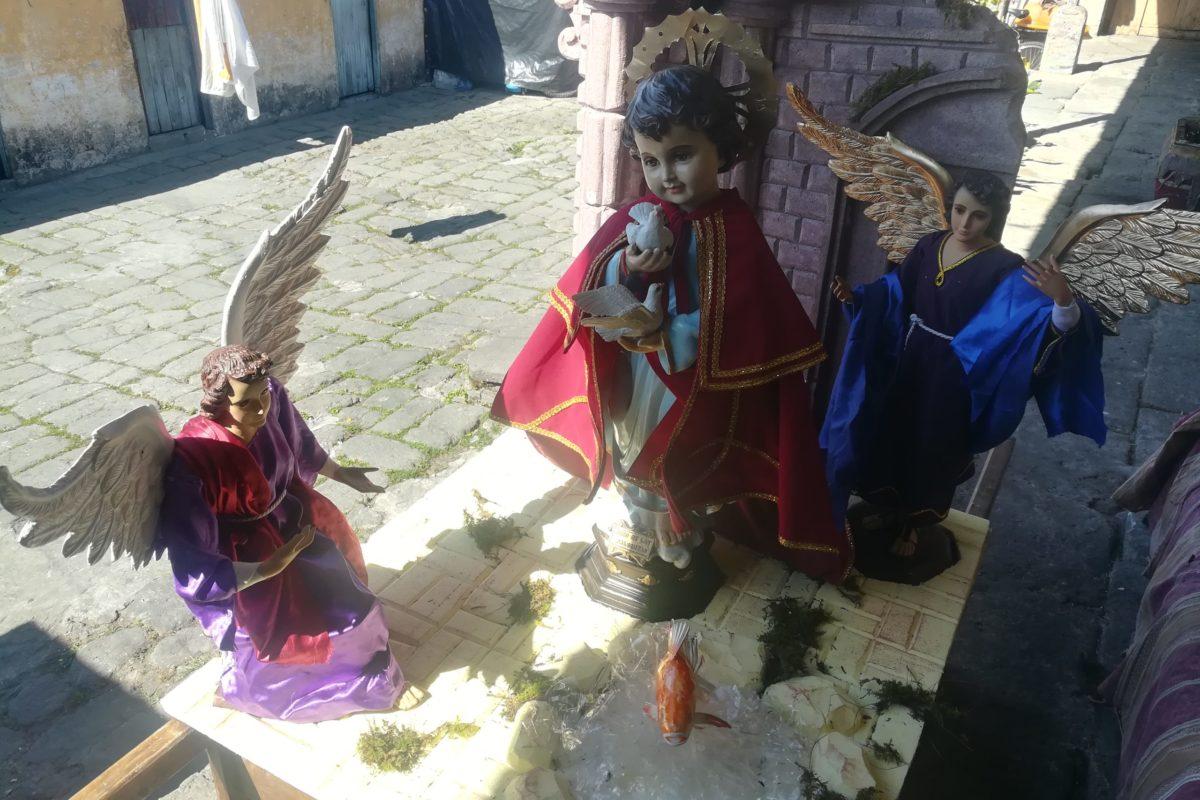 Procesión transmite mensaje de paz a quetzaltecos