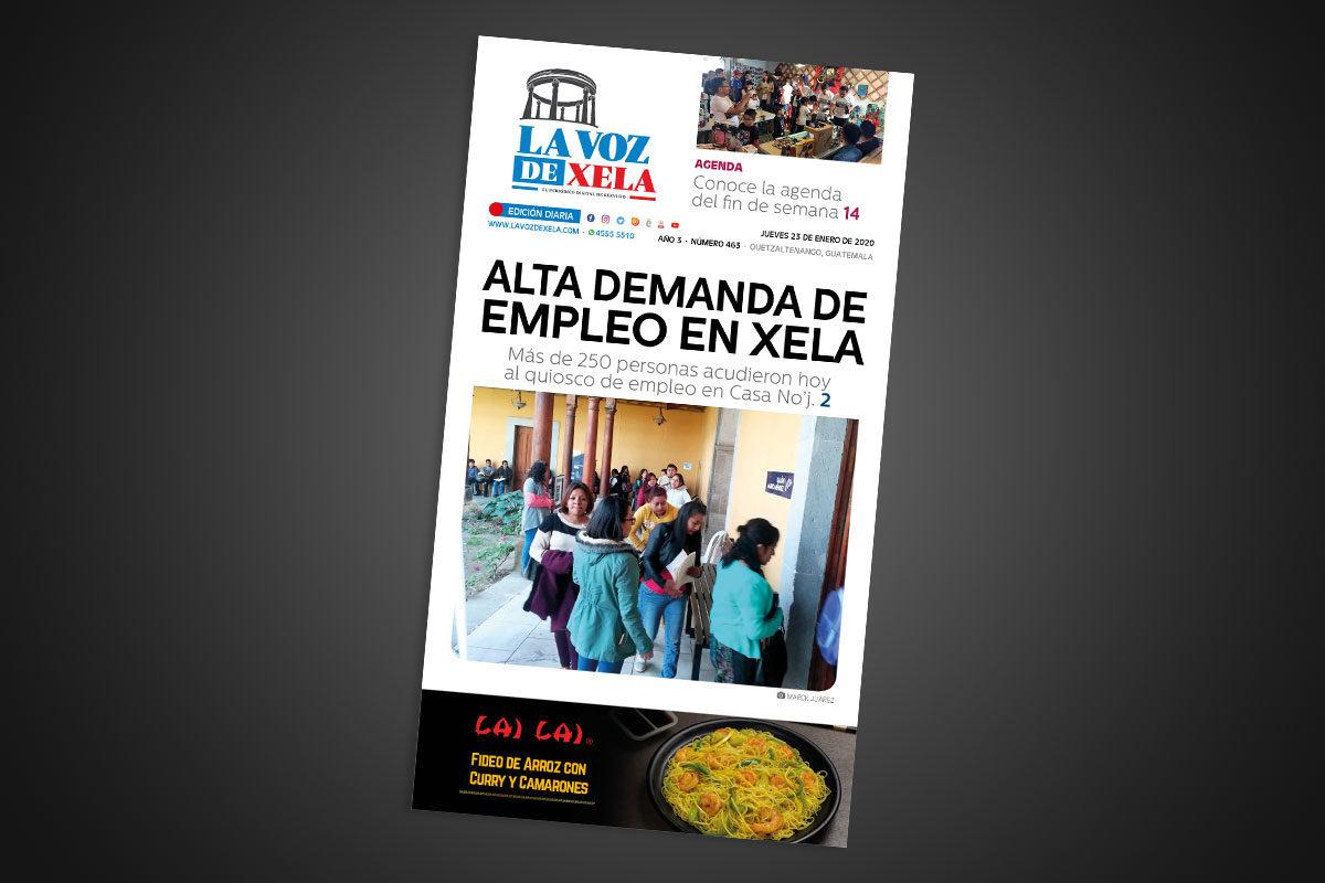 Lee el periódico digital nocturno del jueves 23 de enero | #463