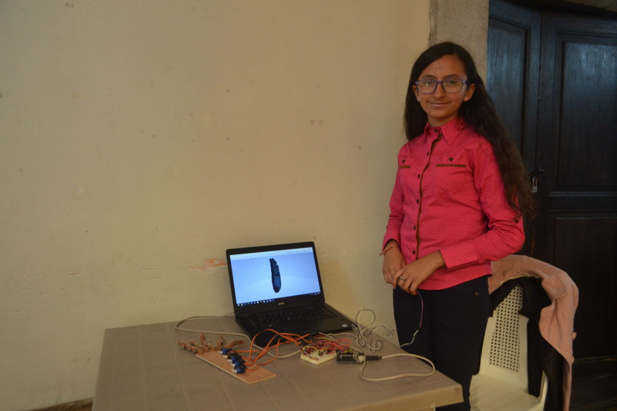 Conoce los proyectos de Gloria Recinos, la niña inventora