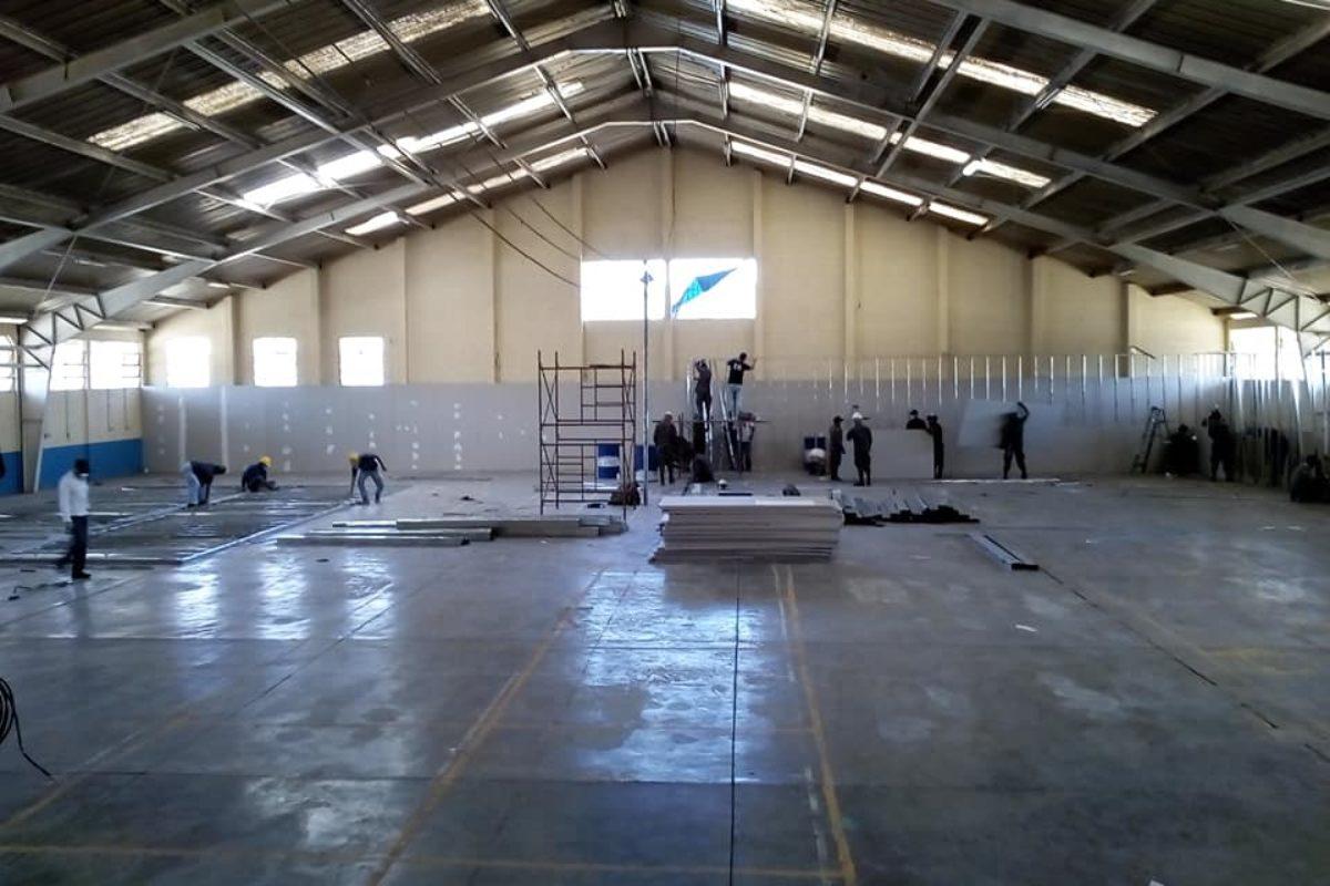 Hospital provisional en Cefemerq tendrá 100 camas