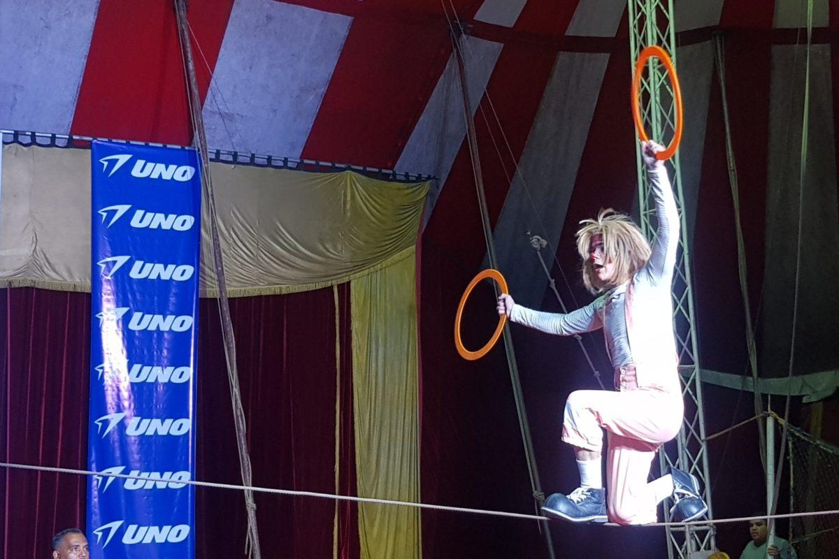 Revive la función del circo en línea