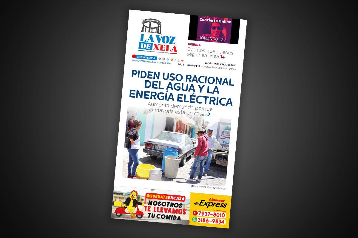 Lee el periódico digital del jueves 19 de marzo | #511