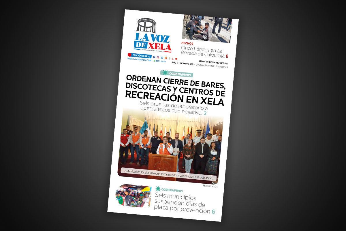 Lee el periódico digital del lunes 16 de marzo | #508