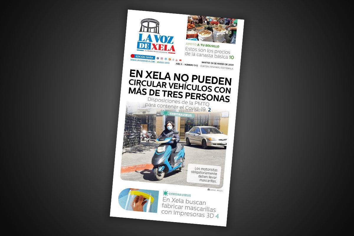 Lee el periódico digital del martes 24 de marzo | #515
