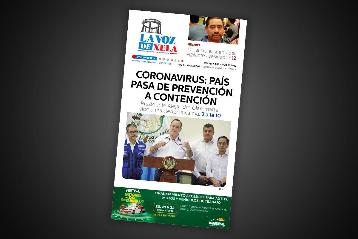 Lee el periódico digital del viernes 13 de marzo | #506