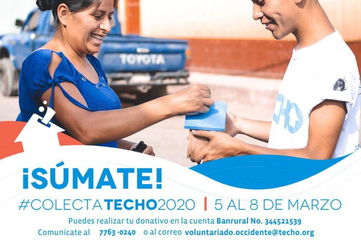 CUATRO MIL VOLUNTARIOS DE TECHO PARTICIPAN EN COLECTA 2020