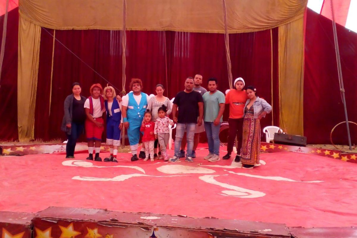 Circo queda varado en Xela y ahora ya no tienen ingresos