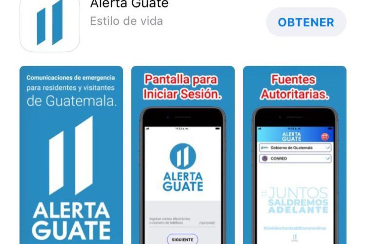 Presidente oficializa aplicación «Alerta Guate»