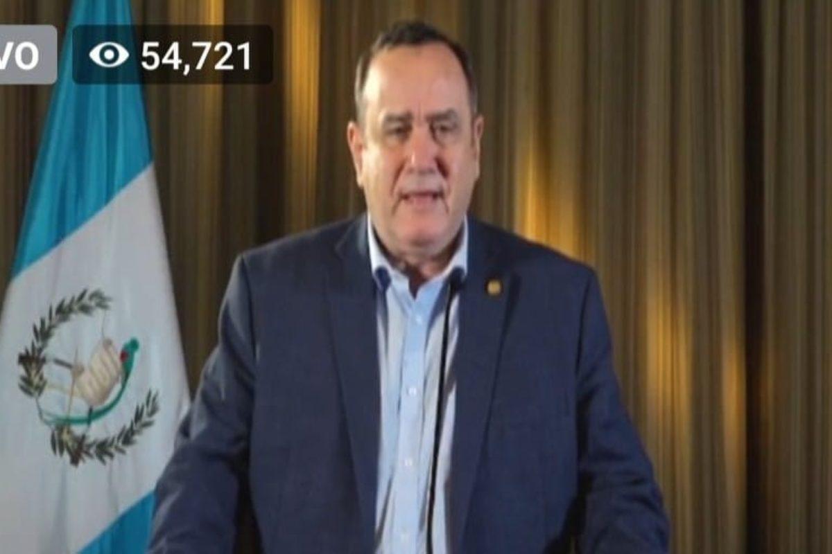 Giammattei: «Lo peor está por venir en Guatemala»