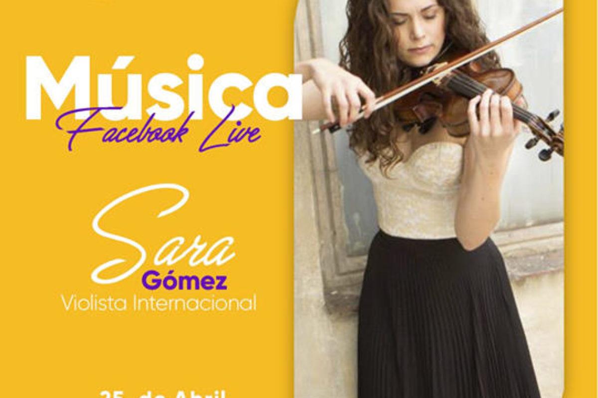 Hoy se presenta Sara Gómez, violinista española en Facebook Live: Utz Ulew Mall