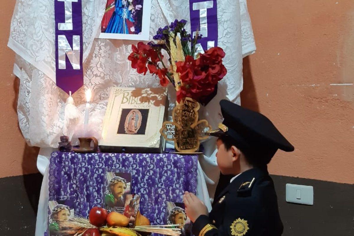 Niño ora por su papá y todos los policías de Guatemala