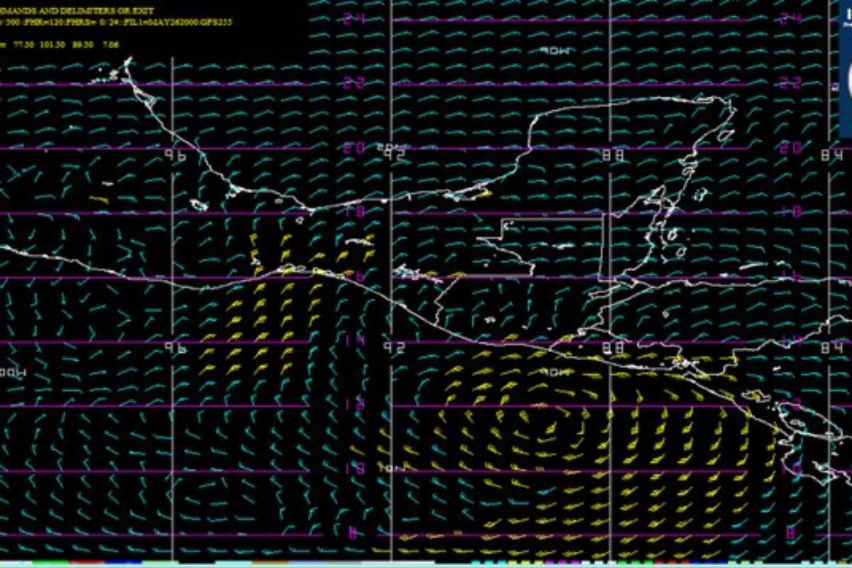 Prepare la sombrilla porque se podría intensificar la depresión tropical