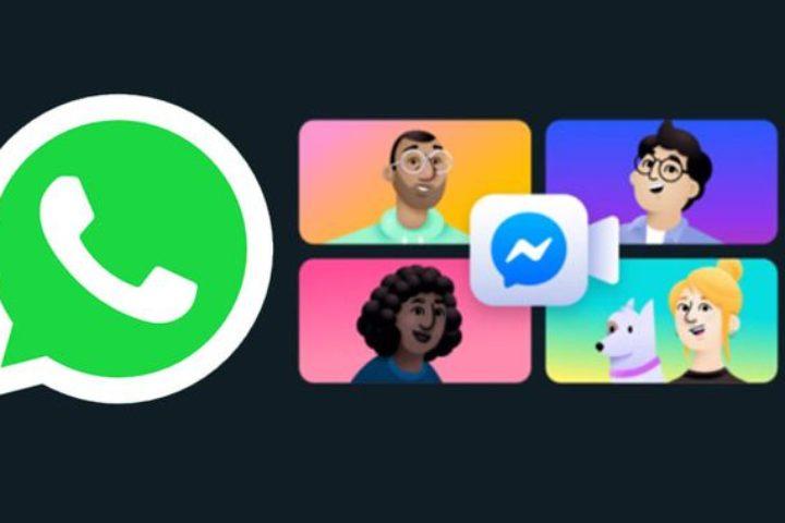 WhatsApp une Messenger Rooms con videollamadas de hasta 50 personas