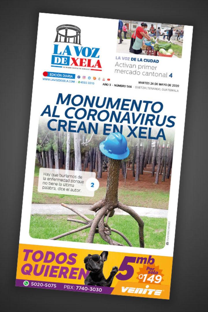Lee el periódico digital del martes 26 de mayo   #566