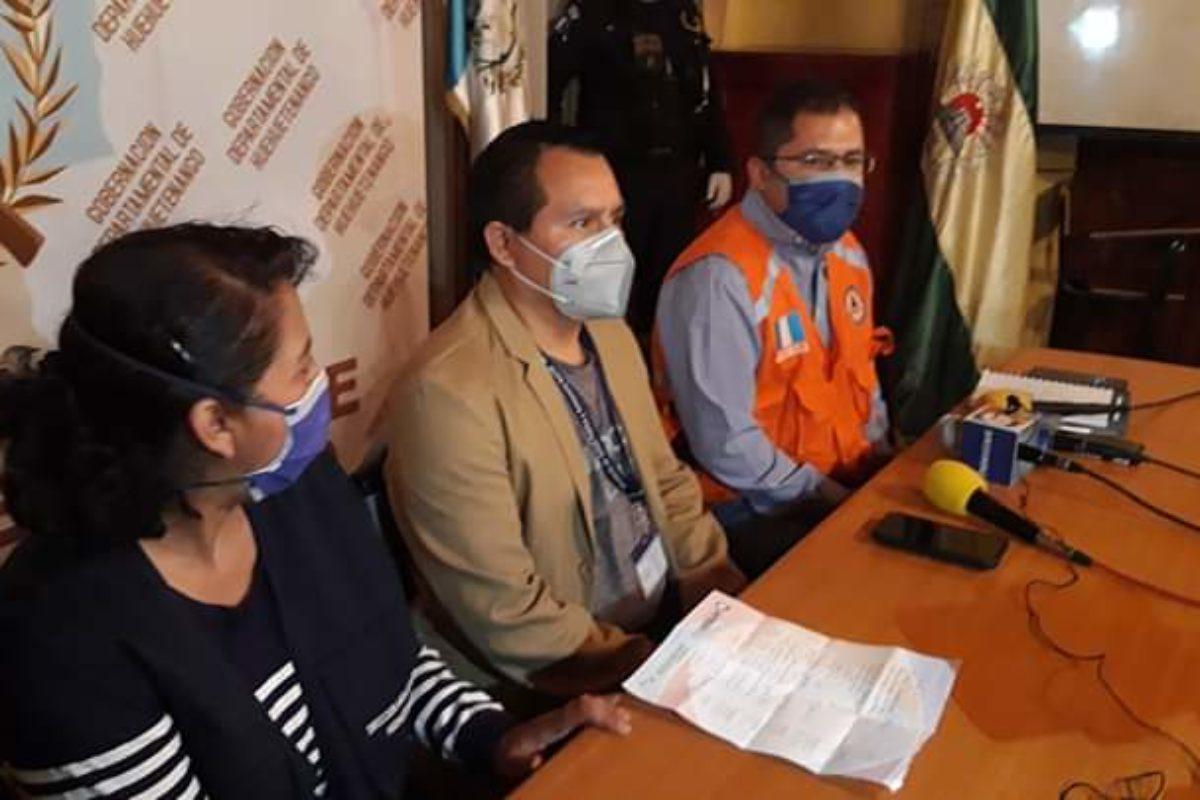 Trasladan a paciente de Huehuetenango a Hospital Temporal Covid-19 de Xela