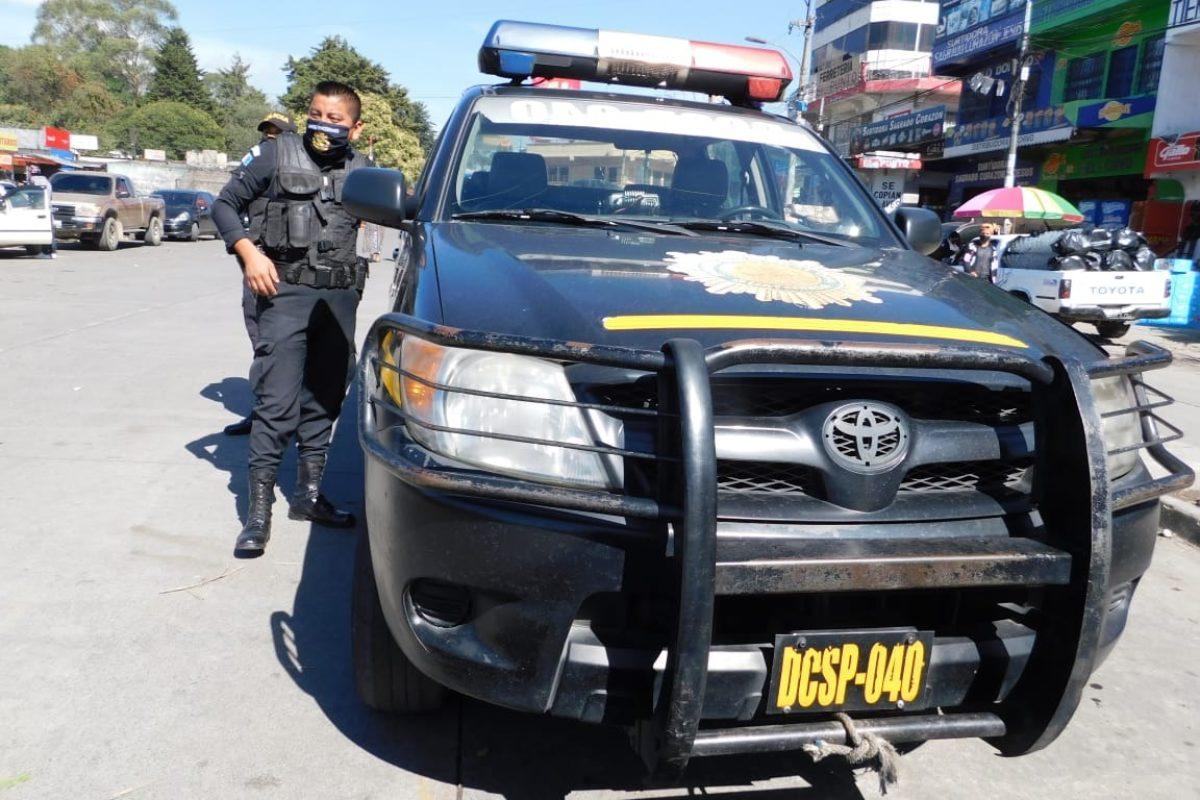 Agentes de la PNC de la región dan positivo a Covid-19