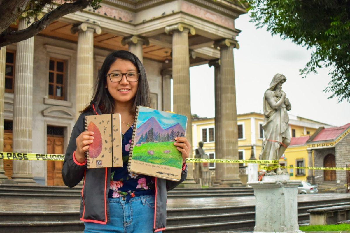 Esta artista quetzalteca te entrega obras personalizadas