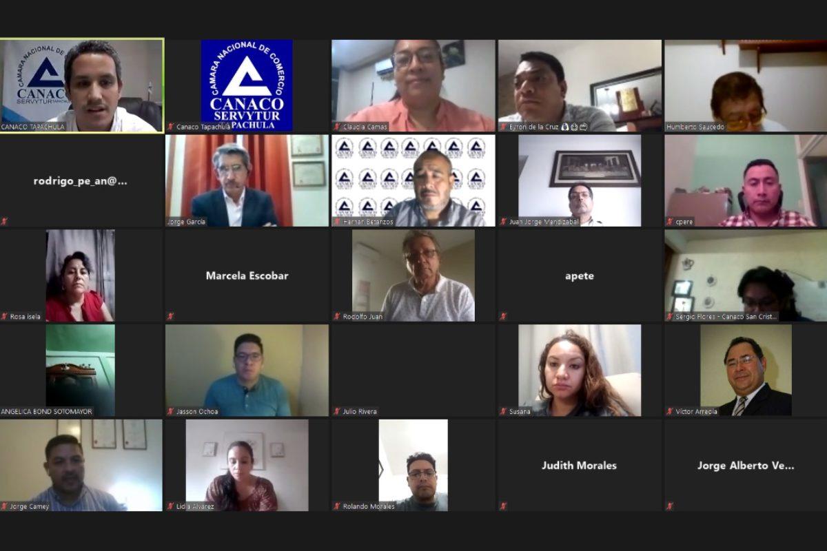 Reactivación económica: primer encuentro virtual Xela – Tapachula