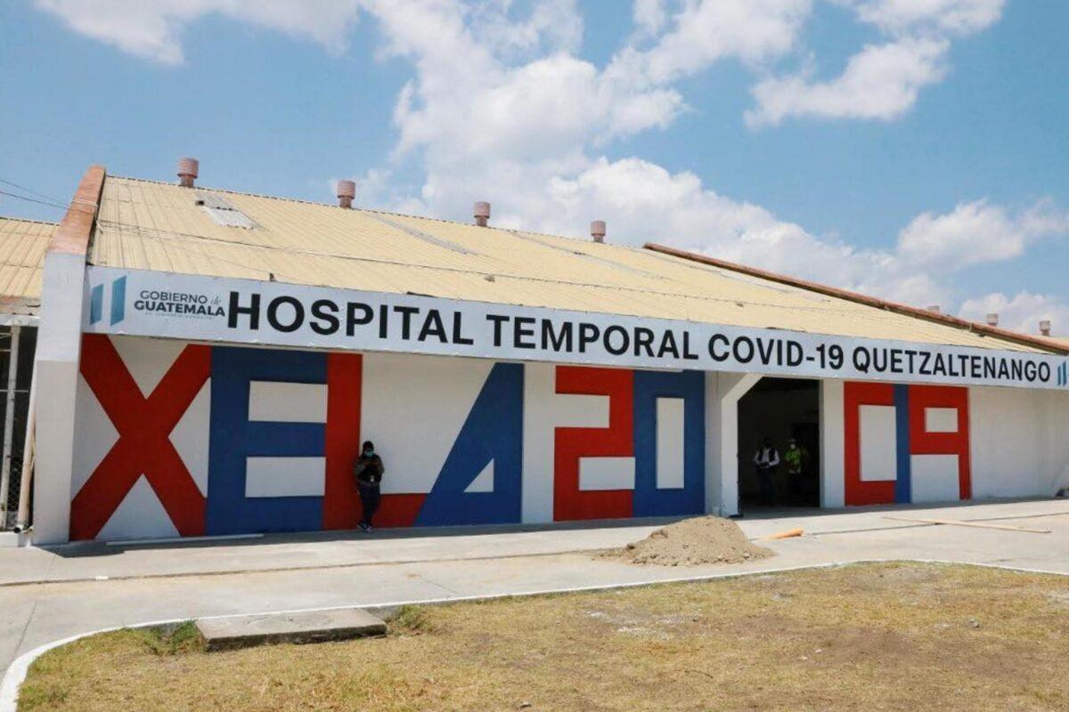 Hospital Temporal de Xela funcionará por seis meses más