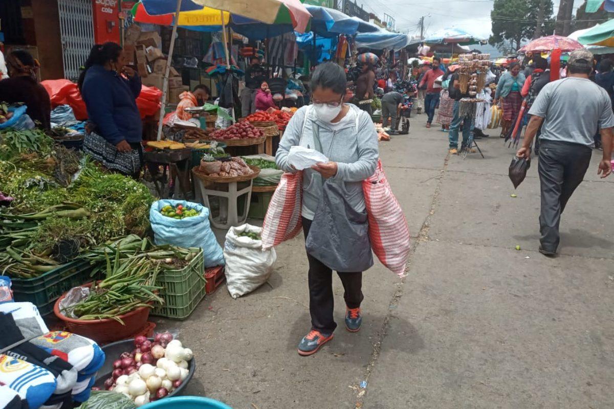 En Quetzaltenango se mantienen activos 895 casos de Covid-19