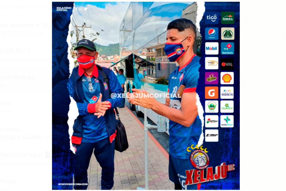 Luego de tanto tiempo sin futbol, Xelajú ya viaja a la capital