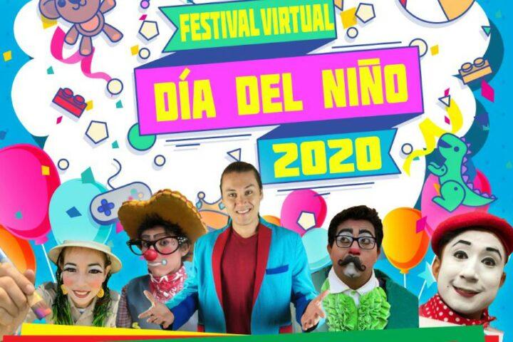 Te invitamos al Festival Virtual del Día del Niño