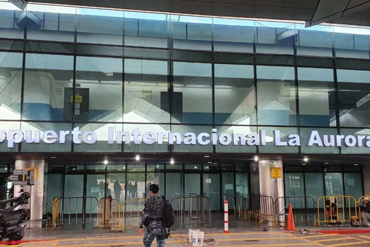 Protocolo: Mañana comienza a funcionar el aeropuerto La Aurora