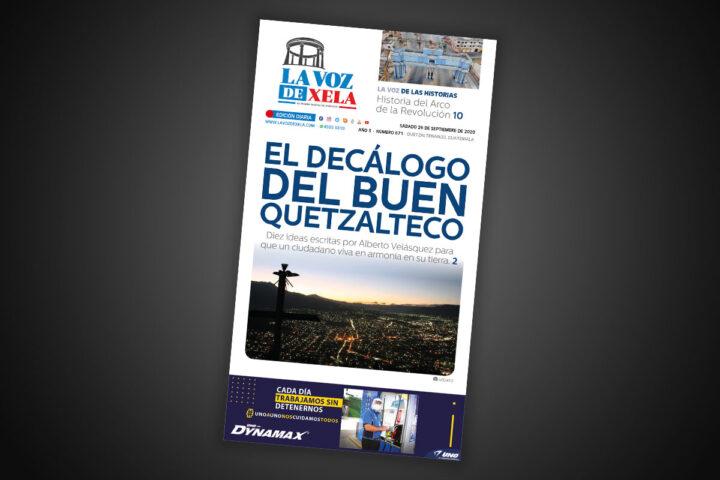 Lee el diario digital del sábado 26 de septiembre | #671