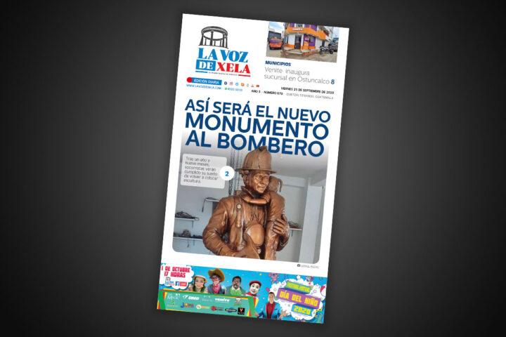 Lee el diario digital del viernes 25 de septiembre | #670