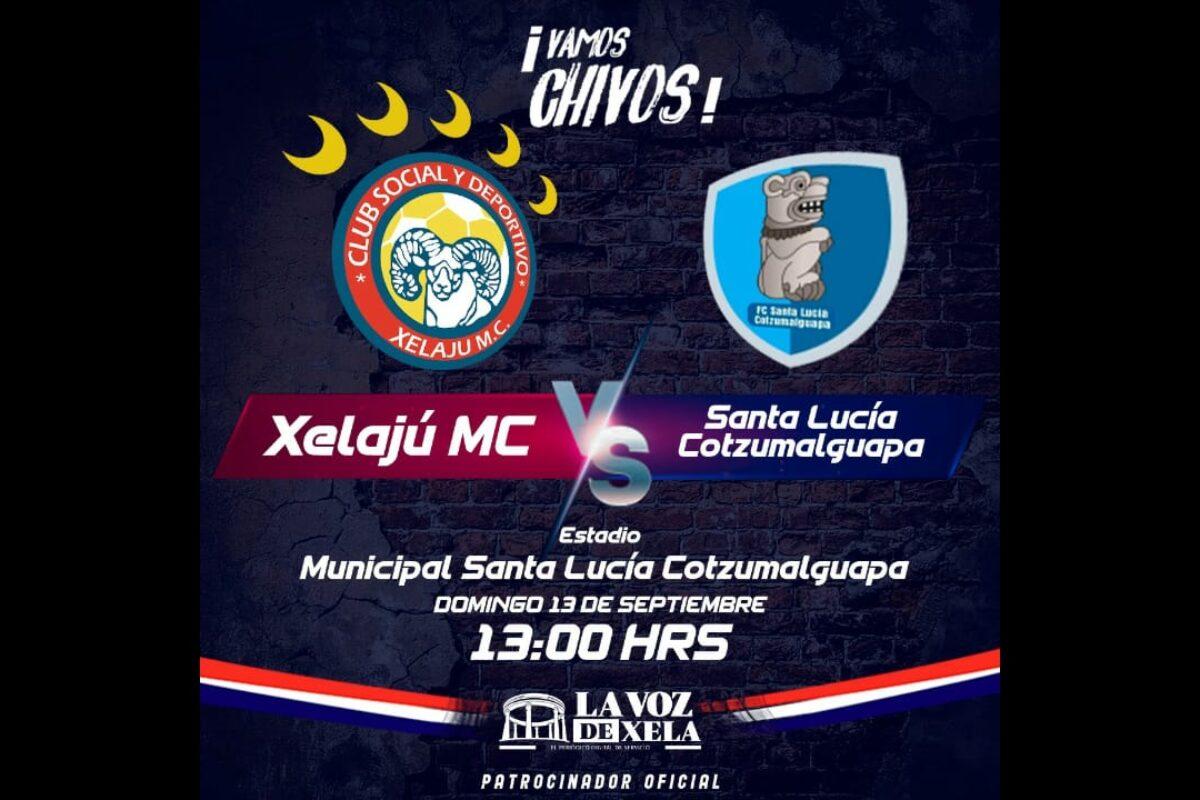 Hoy juega Xelajú y buscará su segundo triunfo en el Apertura