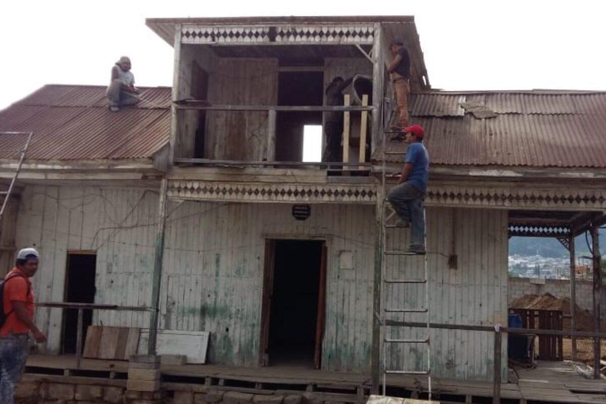 Desarman casa histórica de más de cien años