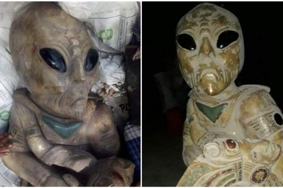 VERIFICADO | La verdad sobre las esculturas aliens en México