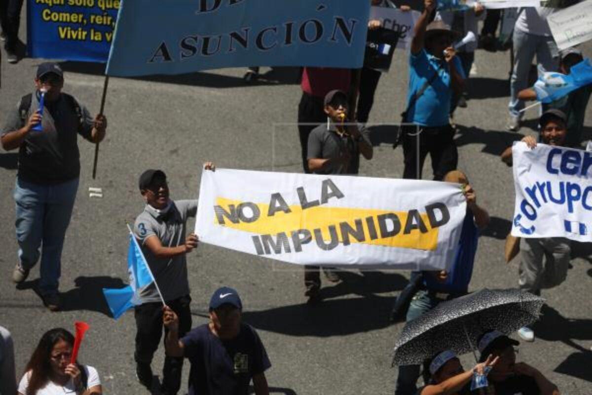Guatemala es uno de los países con mayor impunidad a nivel mundial