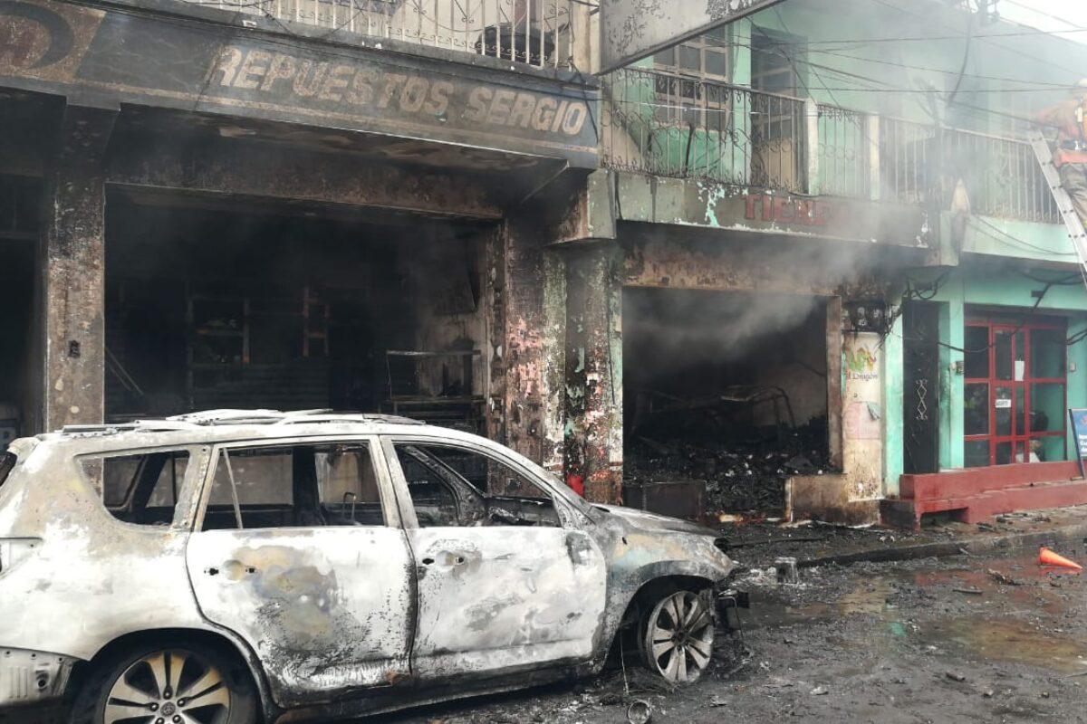 Madre e hija fallecen tras trágico incendio en Avenida Cirilio Flores