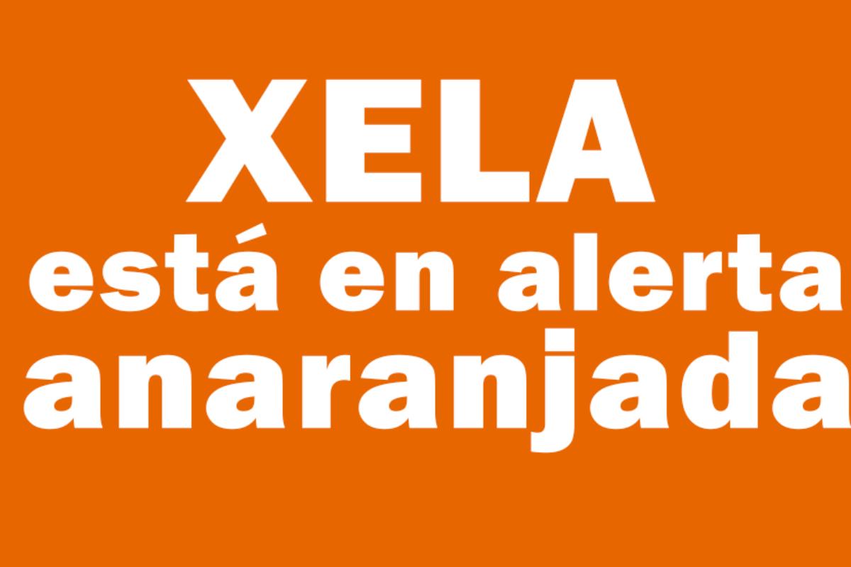 Según Salud, Xela pasa a alerta anaranjada