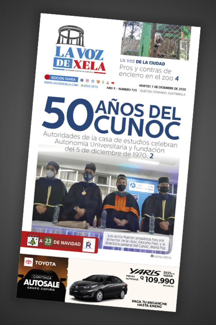Lee el diario digital del martes 1 de diciembre | #725