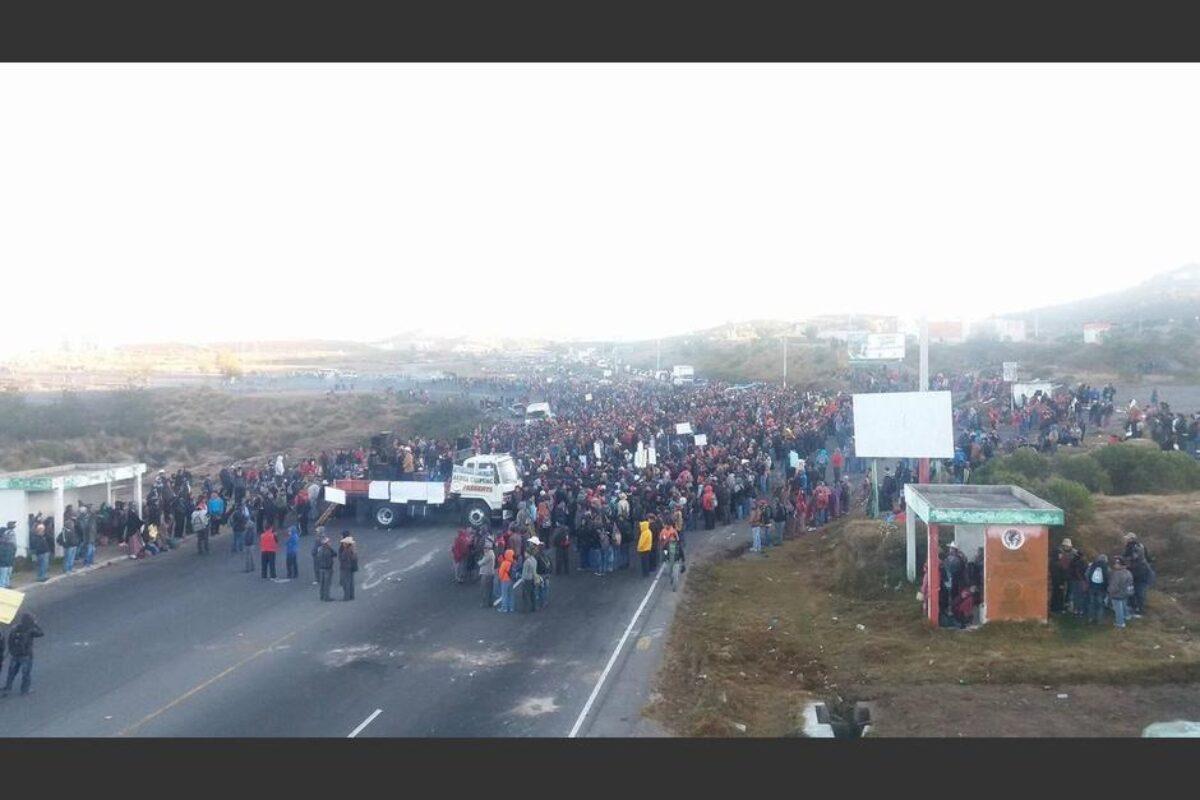 Anuncian manifestación para el 9 de diciembre