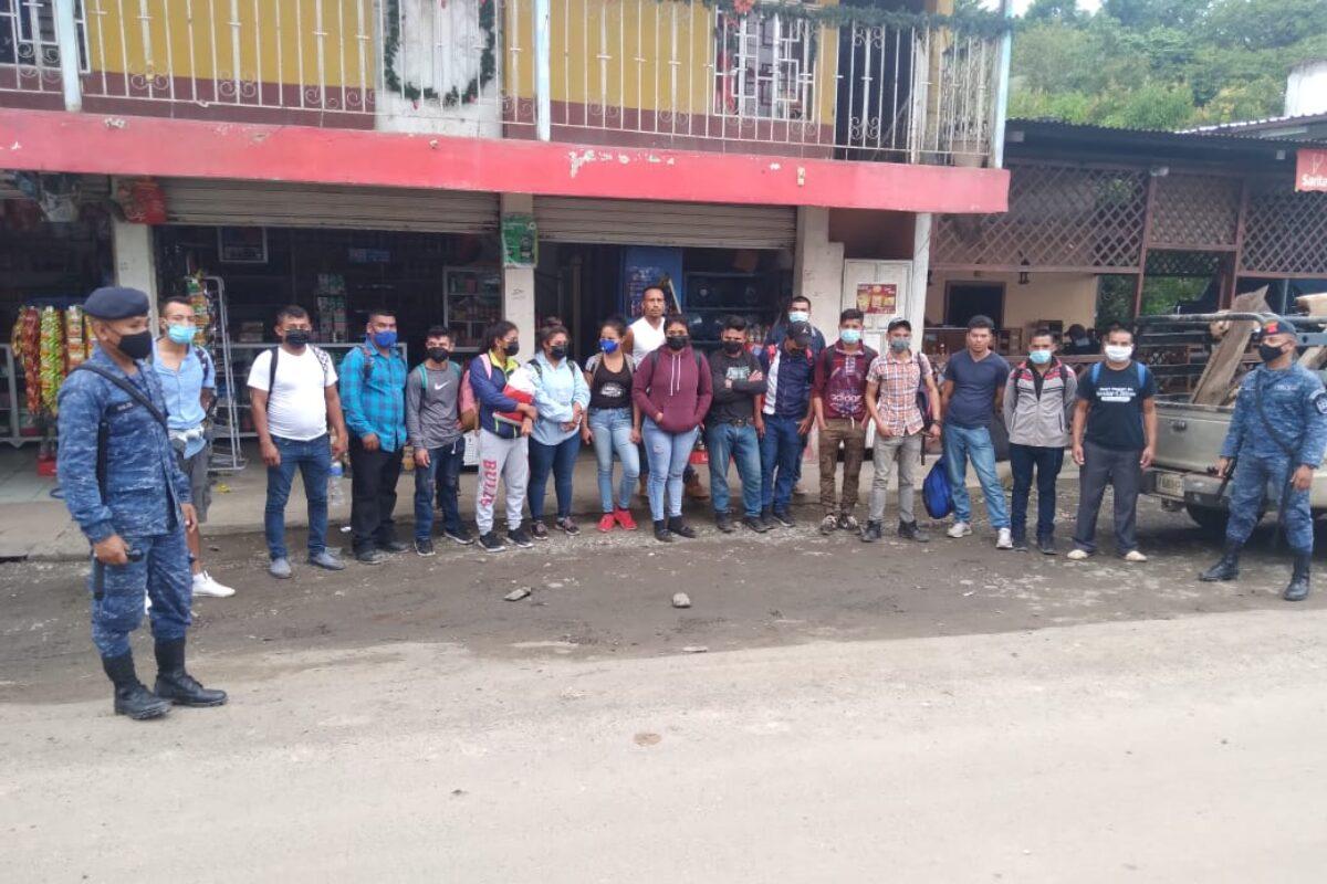 Más de 650 hondureños han intentado ingresar irregularmente al país en 2021