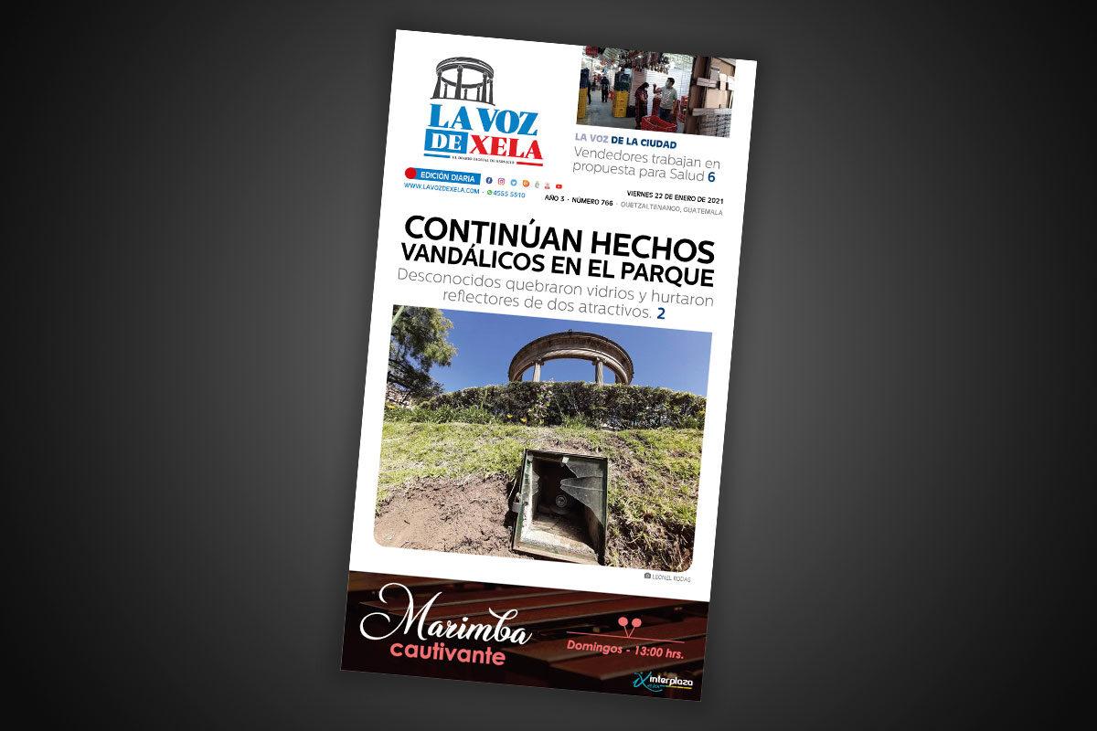 Lee el diario digital del viernes 22 de enero | #766