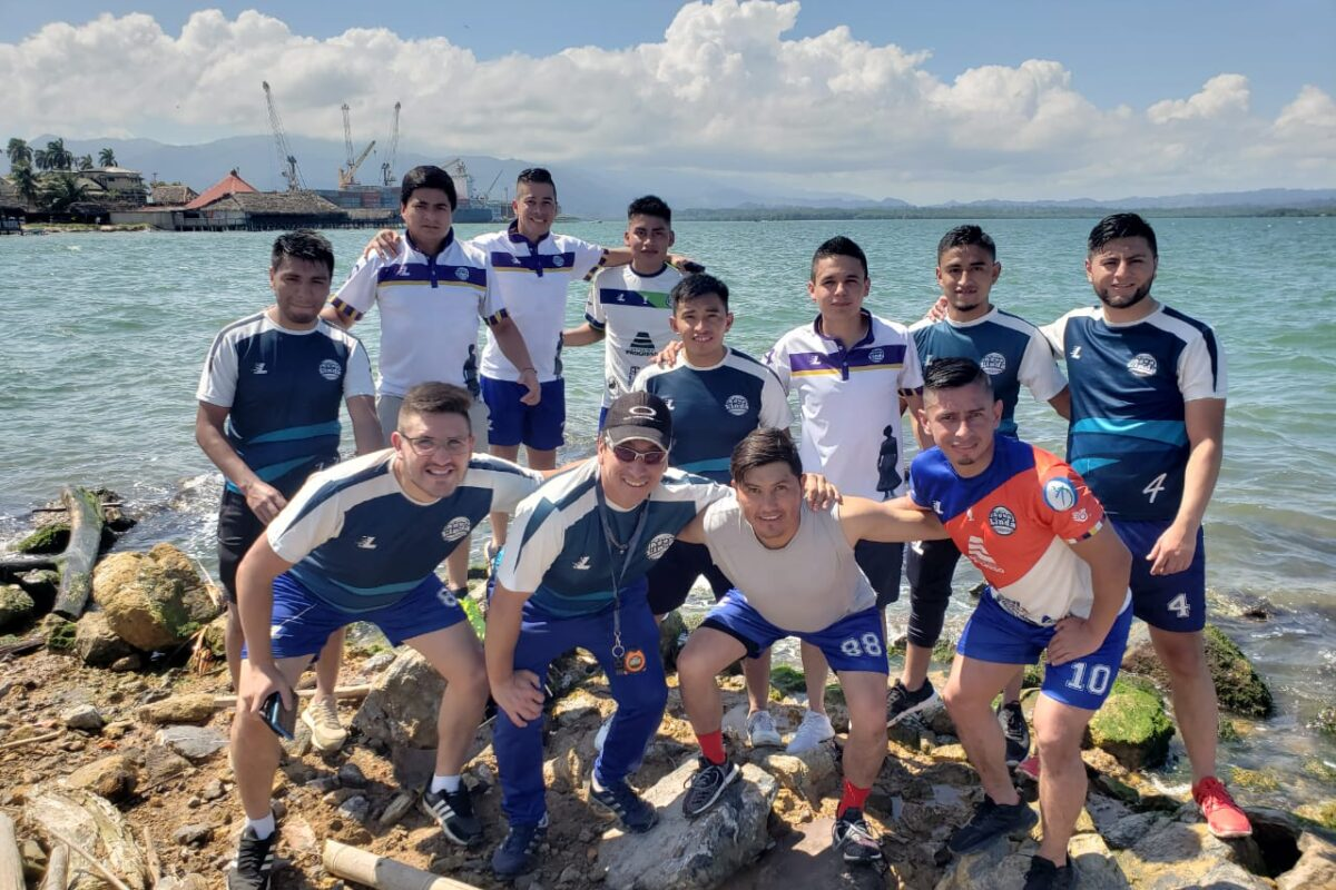 Un viaje largo pero con buen resultado para el equipo quetzalteco de Futbol 7
