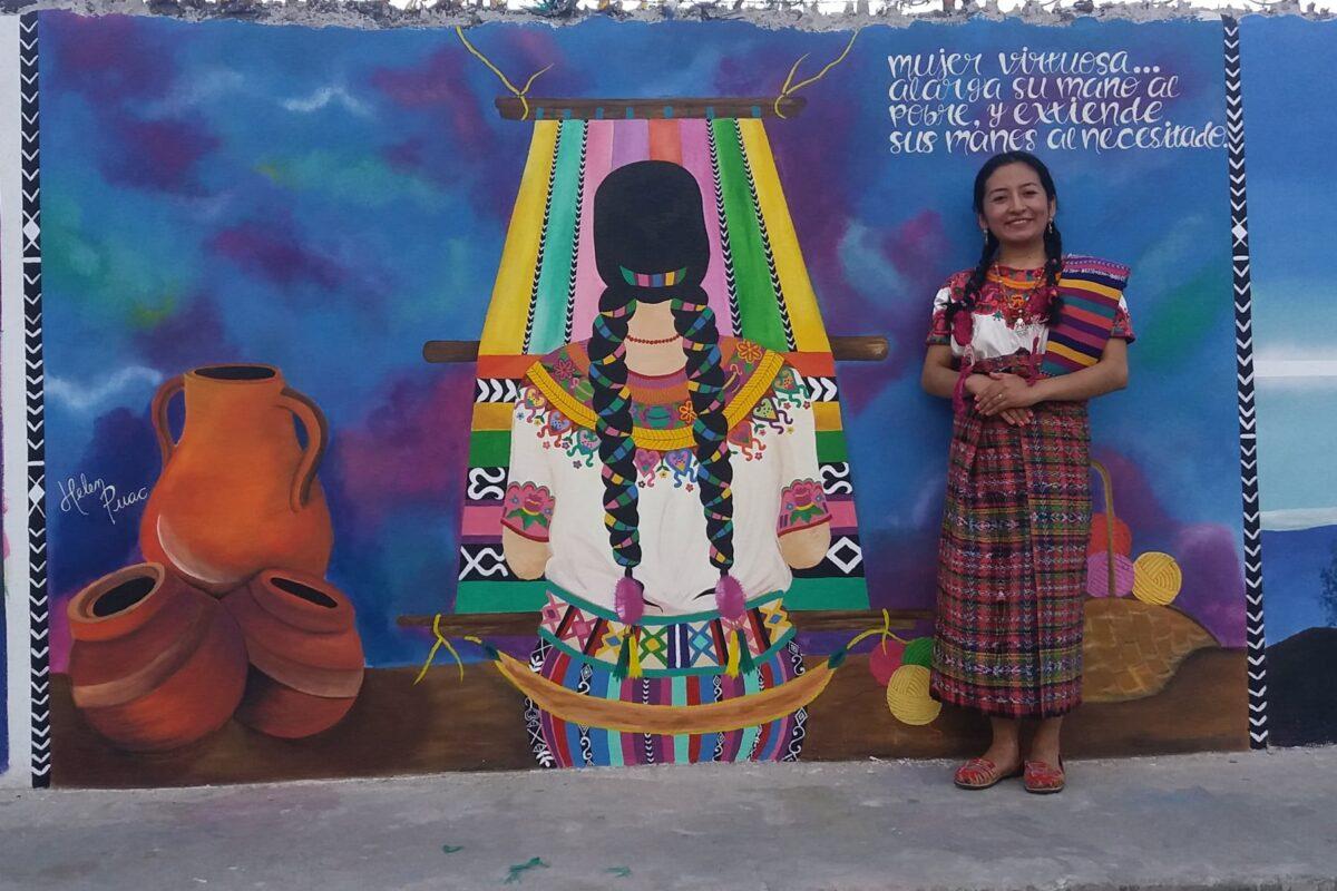 Helen Puac, la talentosa de San Cristóbal Totonicapán