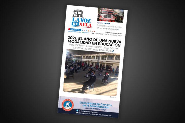 Lee el diario digital del lunes 22 de febrero | #792