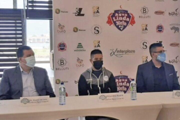 Agua Linda, club de futbol 7 de Quetzaltenango, anunció que representará al departamento en un torneo internacional